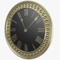 Golden Classic Clock