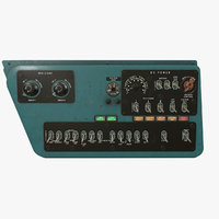 3D right console mi-8mt mi-17mt