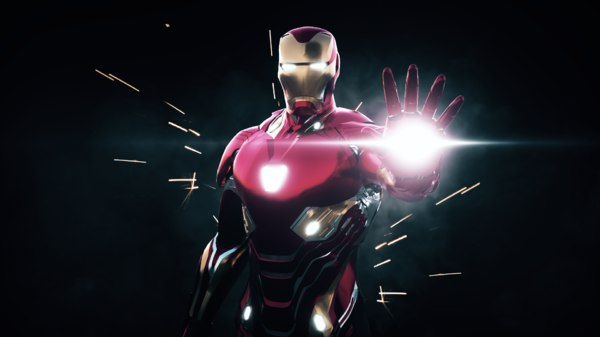 3D iron man mark 48