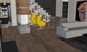 3D designed royal home