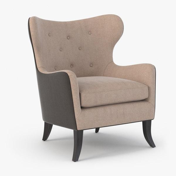 3D realistic sofa