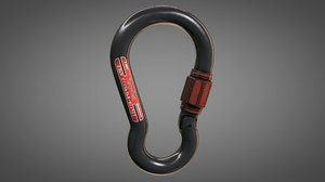 safety hook 3D model