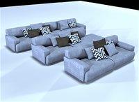 poliform soho sofa model