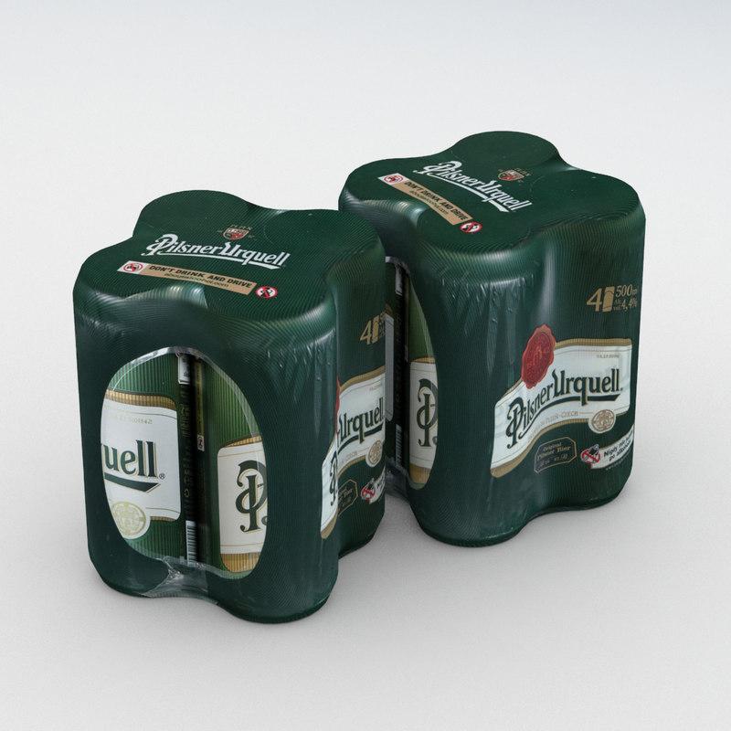 4pack 3D model