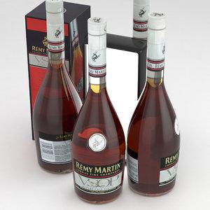 cognac 3D model