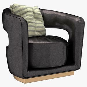 ellen armchair 3D