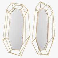 diamond mirror 3D