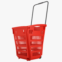 3D plastic roll shopping