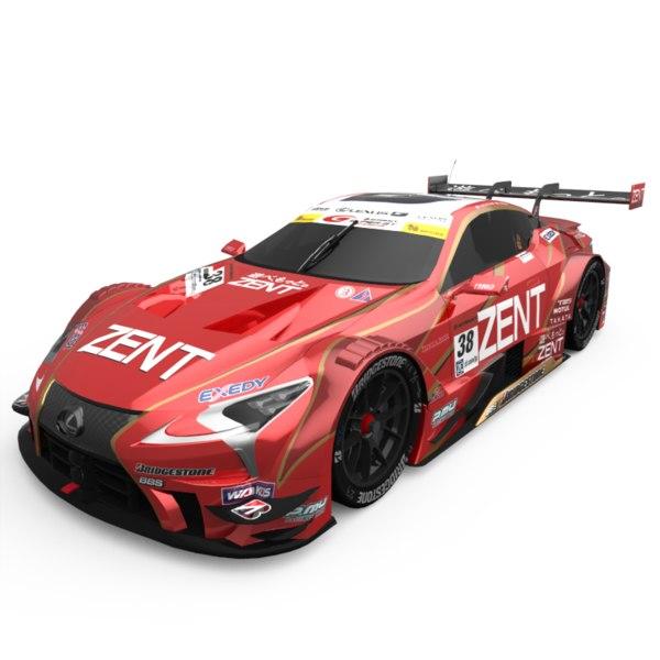 3D lexus lc500