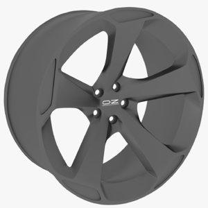 oz asphen hlt wheel 3D model