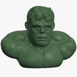 hulk marvel character 3D