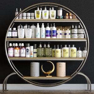 cosmetics salon model