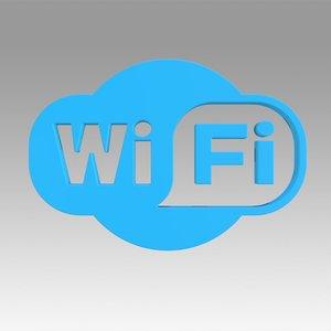 wifi wi fi 3D model