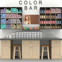 cosmetics salon 3D