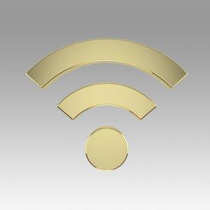 3D wifi wi fi model