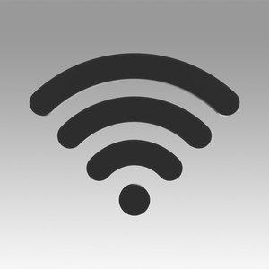 3D model wifi wi fi