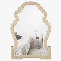 wlao3970 mirror wall 3D