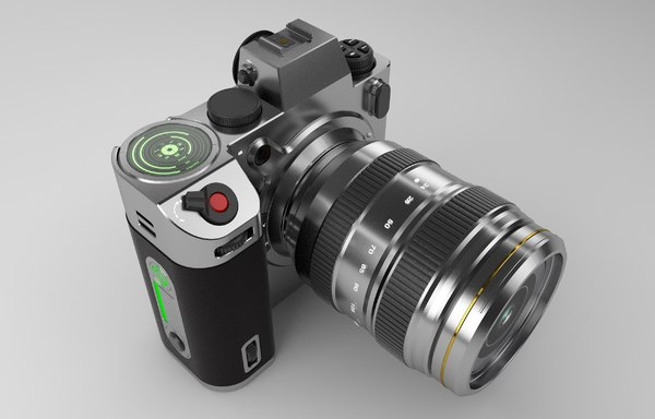 design camera 3D model