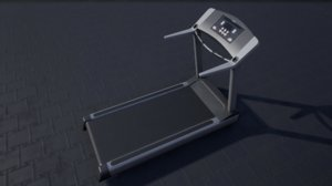 3D pbr treadmill