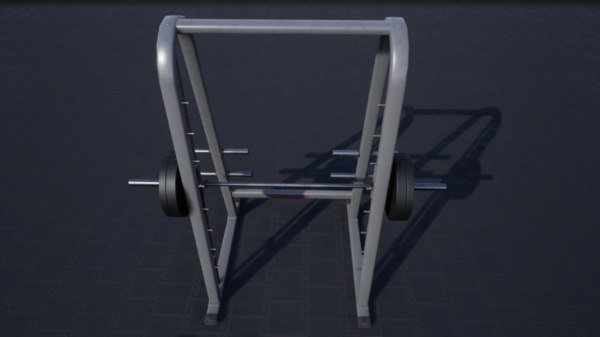 3D model pbr smith machine