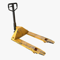 3ds max ready pallet jack