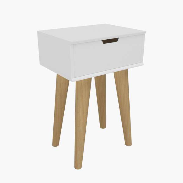 bedside table 03 3D model