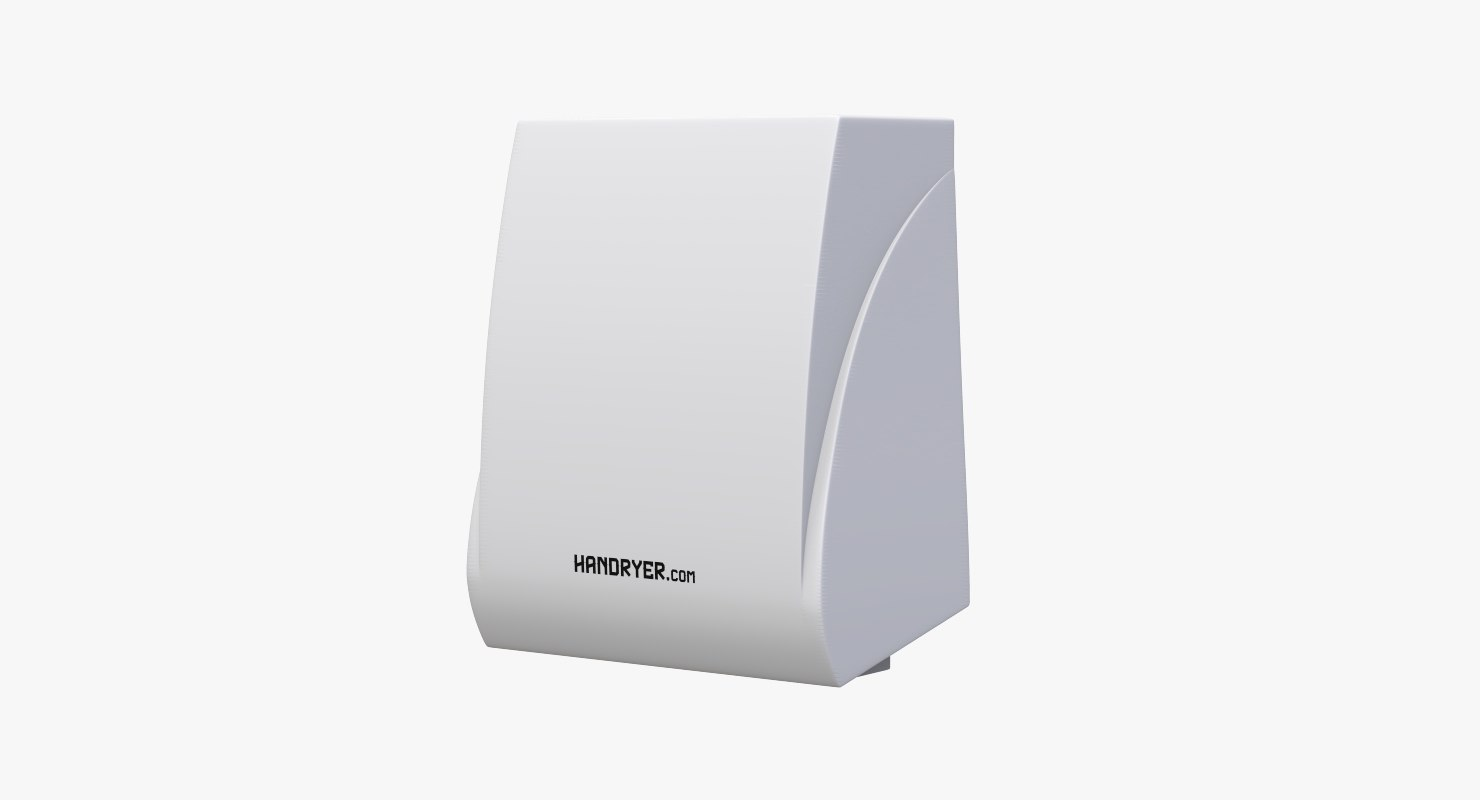 3D hand dryer v2 handryer model