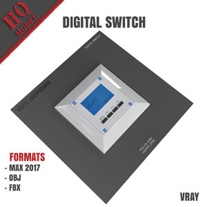 3D digital switch model