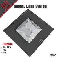 3D double light switch
