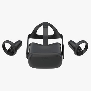 3D set oculus quest model