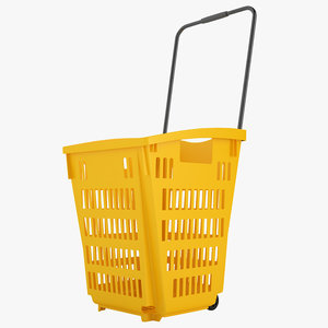 plastic roll shopping 3D model