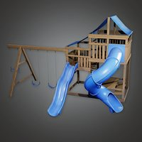Playground Set 03a (PAP) - PBR Game Ready