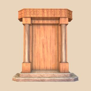 ark wood marble 3D model
