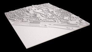 3D area alfama penha franca model