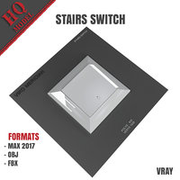 stairs switch 3D model