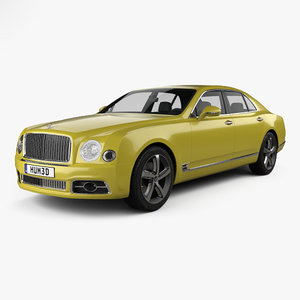 3D bentley mulsanne speed