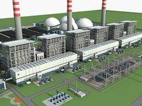 Power plant station