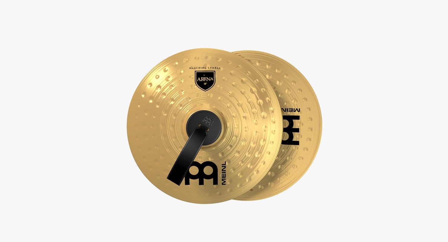 meinl cymbals 3D model