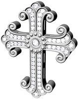 3D jewelry cross model