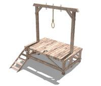 gallow allows 3D model
