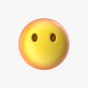 3D emoji 27 face mouth