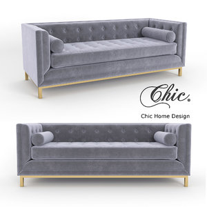 chic vigan sofa 3D