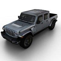 3D 2020 jeep gladiator