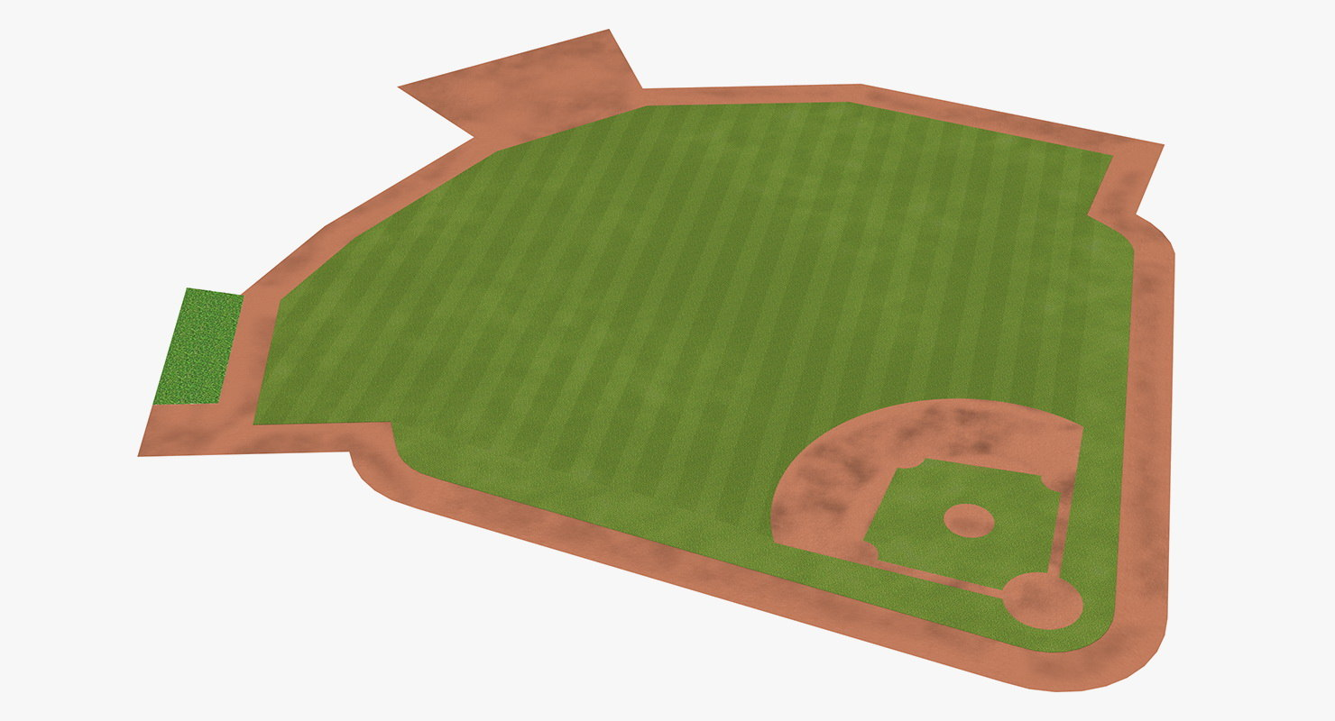 baseball field model