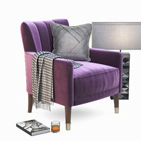 3D chair linley cadogan club