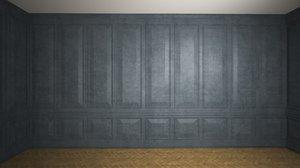 wooden panels 3D