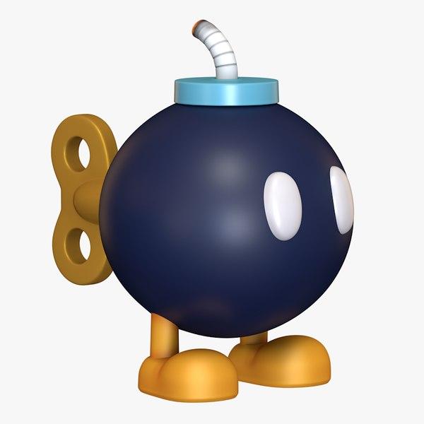 bob omb - bomb 3D model