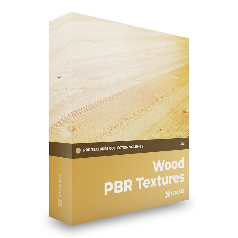 wood pbr volume 2 3D model