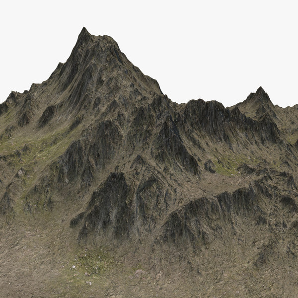 mountain peak landscape model