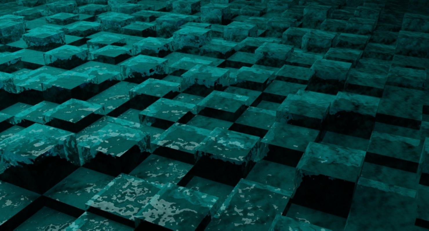 geometric shape cube 3D